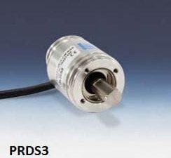 Sensor de ângulo magnético absoluto até 360 graus, 36 mm de diâmetro, eixo de 10 mm