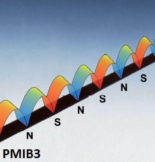 Escala de medição magnética adequada para o sensor PMIS3