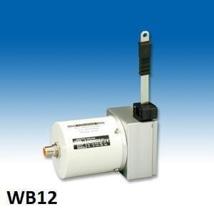 WB12 Sensor de posição de extensão de fita Sensor de posição com fita de medição Faixa de medição: até 4000 mm