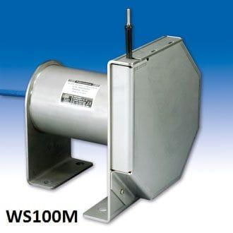 WS100M Sensor de posição de extensão de cabo Sensor de posição com cabo de medição Faixa de medição: até 10000 mm