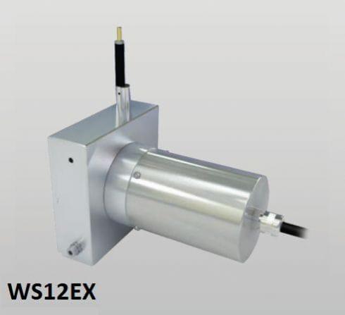 WS12EX Sensor de posição de extensão de cabo Sensor de posição com cabo de medição Faixa de medição: até 3000 mm