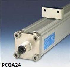 Sensor de posição de perfil quadrado