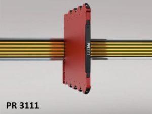 Os conversores PR 3111 foram projetados para operar dentro de uma faixa de temperatura de -25 ˚C a +70 ˚C. Para testar sua capacidade de resolver o problema, doze conversores 3111 TC foram instalados no painel - uma solução econômica que oferece monitoramento estável do sistema desde o primeiro dia.