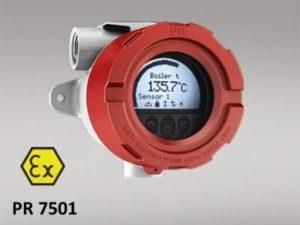 Transmissor ou sensor de temperatura convertem o sinal de vários tipos de sensores como termorresistência, termopares e também potenciômetros, em um sinal de saída padronizado. Com transmissores digitais de temperatura, o tipo de sensor e a faixa de medição, além de muitas outras opções como, por exemplo, a sinalização de erro ou a identificação do ponto de medição, podem ser livremente configuradas.