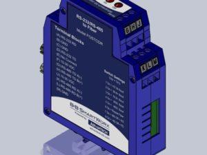 Conversor Serial para Fibra Ótica - Serial TB Multimodo Fibra ST - FOSTCDR