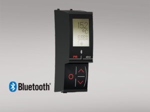 PR 4512 Ativador de comunicação Bluetooth. Acesso sem fio via Bluetooth e recursos de registro de dados e eventos a toda a família 4000 e 9000.